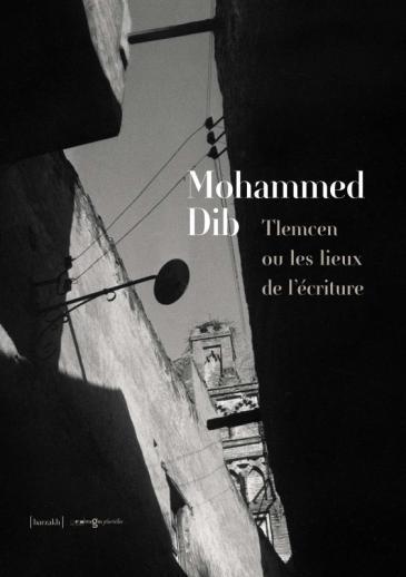 """Cover of the book """"Tlemcen ou les Lieux de l'Ecriture"""" (source: IMG PLURIELLES)"""