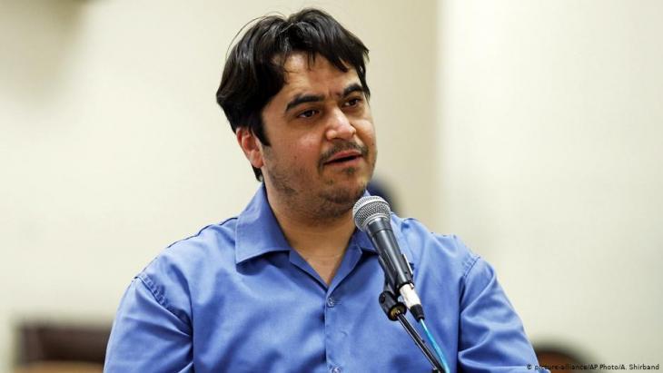 Iranian journalist Ruhollah Zam (photo: picture-alliance/AP)
