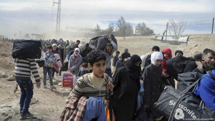 Syrian refugees (photo: picture-alliance/dpa/Uncredited/SANS/AP)