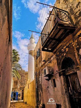 "View of Tripoli's historic quarter, Libya (source: Facebook/""Corners of Tripoli"")"