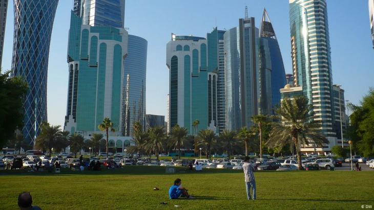 Skyscrapers in Doha, Qatar (photo: Brigitte Osterath)