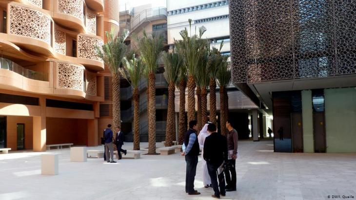 Masdar Institute in Masdar City (photo: Deutsche Welle)