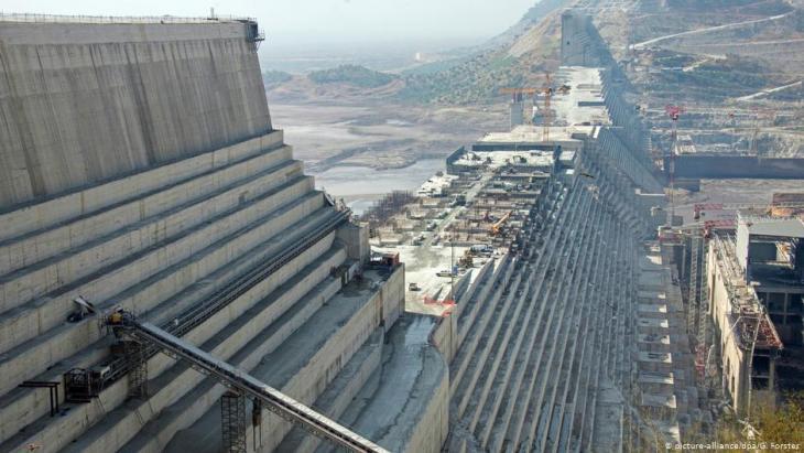 Grand Ethiopian Renaissance Dam, Ethiopia (photo: picture-alliance/dpa/G.Forster)