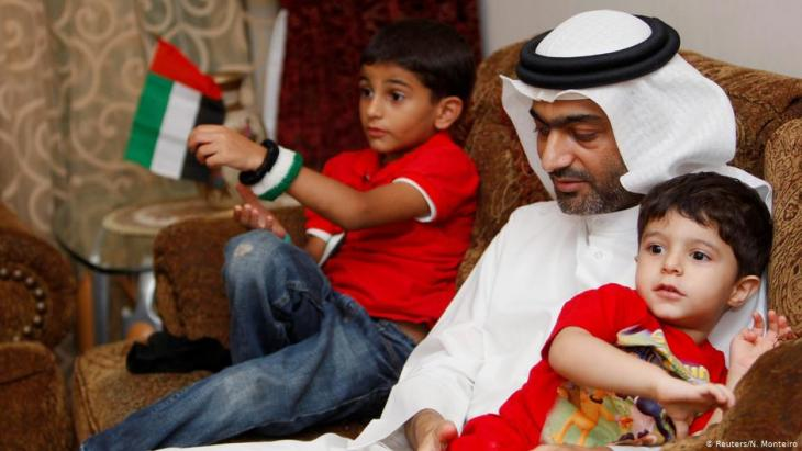 Emirati human rights activist Ahmed Mansoor, currently in prison (photo: Reuters)