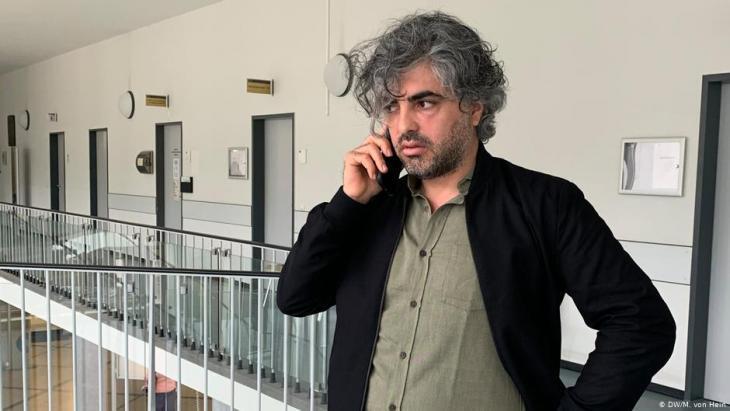 Feras Fayyad (photo: DW/M. von Hein)