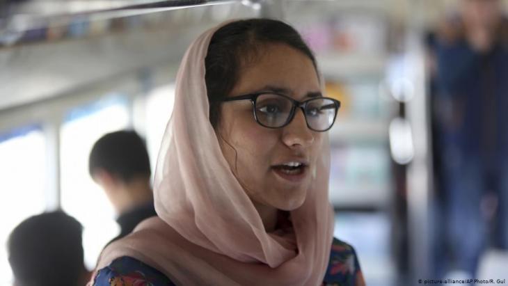 Freshta Karim (photo: picture-alliance/AP Photo/R. Gul)