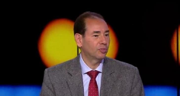 Egyptian novelist Khaled al-Khamissi (photo: YouTube screenshot/France24)