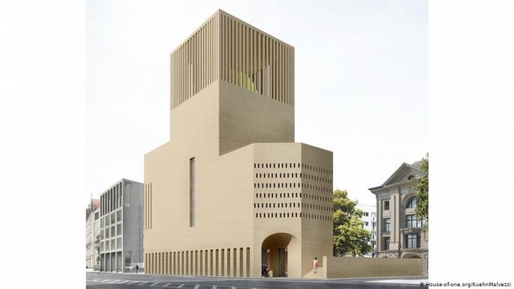 Artist's impression of the House of One in Berlin (photo: house-of-one.org/KuehnMalvezzi)