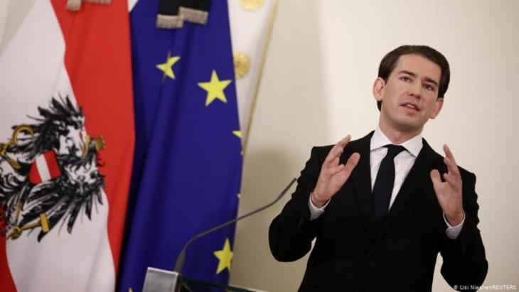 Attack in Vienna - Chancellor Sebastian Kurz gives a press conference (photo: Lisi Niesner/Reuters)