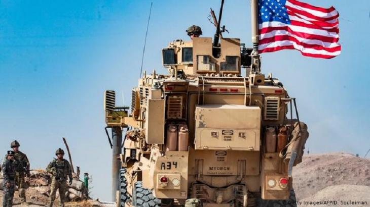 U.S. troops withdrawing from Syria in autumn 2019 (photo: Getty Images/AFP/D. Souleiman)