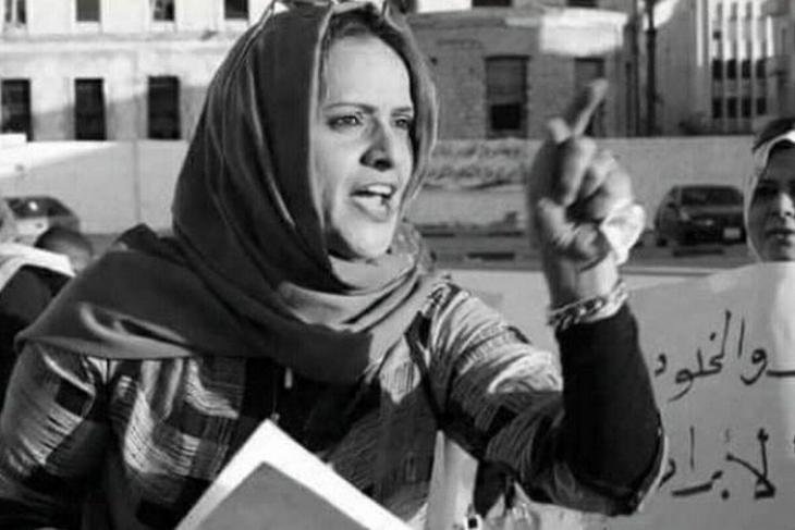 Libyan lawyer, human rights and women's rights activist Hanan al-Barassi was shot dead in the street in Bengazi on 10 November 2020 (photo: PeaceMusicLovee/Twitter)