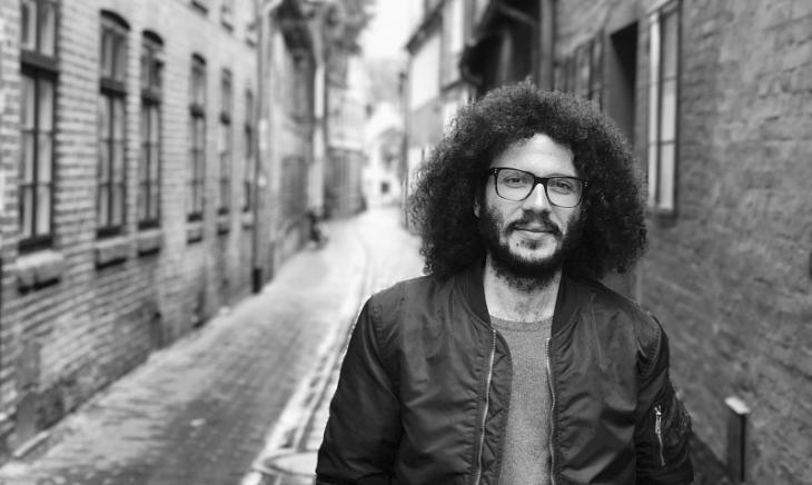 Syrian poet Ramy al-Asheq (photo: Rashad Alhindi)