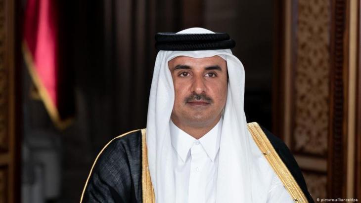 Qatar's ruler Emir Sheikh Tamim bin Hamad al-Thani (picture-alliance/dpa)