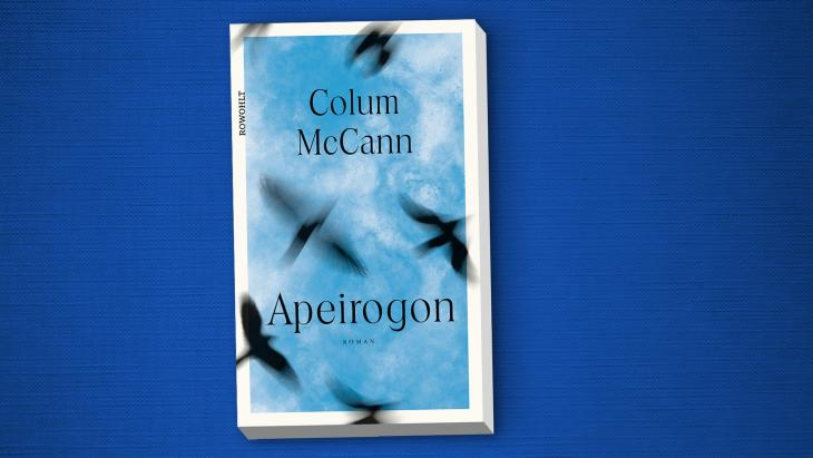 "Cover of Colum McCann's ""Apeirogon"" (published by Bloomsbury)"
