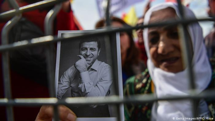 HDP politician Selahattin Demirtas has been in prison for four years (photo: Getty Images/AFP/O. Kose)
