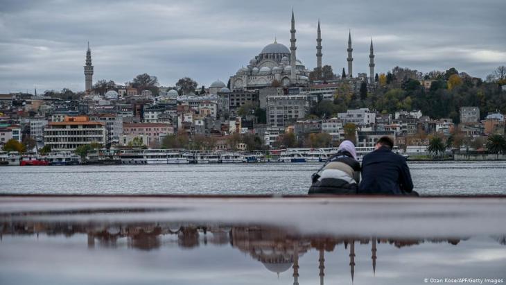 Coronavirus lockdown in Istanbul, Turkey (photo: Ozan Kose/AFP/Getty Images)