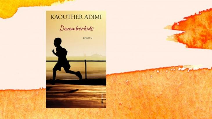 """Cover of Kaouther Adimi's """"Decemberkids"""" (published in German by Lenos Verlag; photomontage: Deutschlandradio)"""
