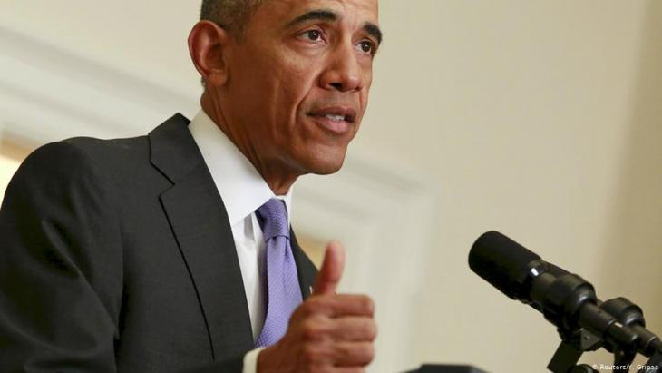 U.S. President Barack Obama delivers a statement on Iran at the White House in Washington in 2016 (photo: Reuters/Y. Gripas)