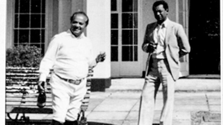 Mansi and Tayeb Salih (source: arablit.org)
