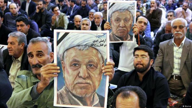 Funeral of former Iranian president Rafsanjani in Shiraz (photo: Borna)