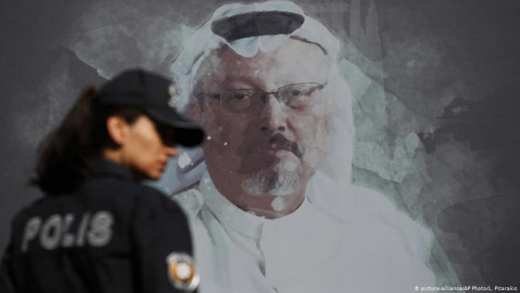 Mural of Jamal Khashoggi in Turkey (photo: picture-alliance/AP Photo/L. Pitarakis)