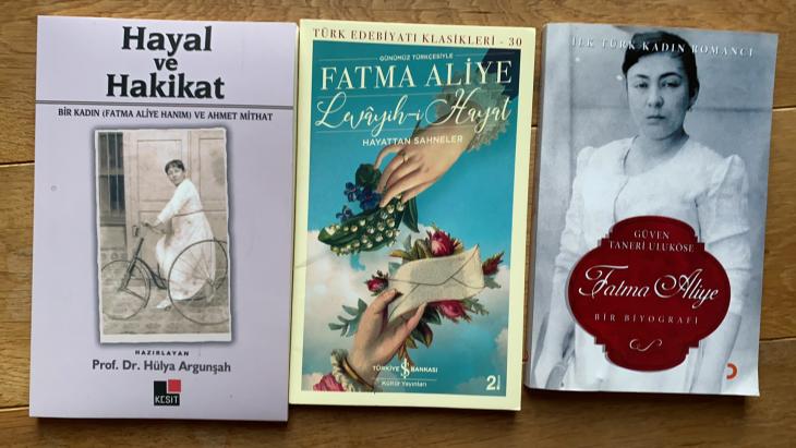 Novels by Fatma Aliye, Turkey's first female novelist