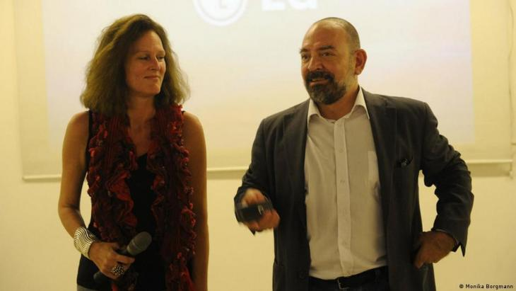 Lokman Slim and his wife Monika Borgmann documented past assassinations (photo: Monika Borgmann)
