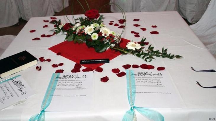 Symbolic image of a Muslim wedding (photo: LIB)