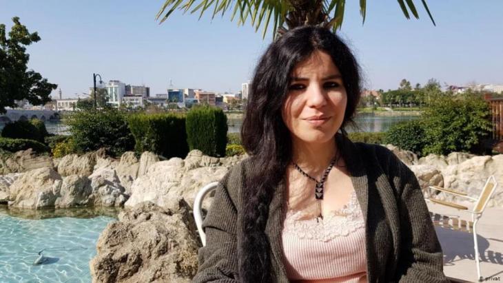 Zehra Dogan, artist and journalist (photo: private)