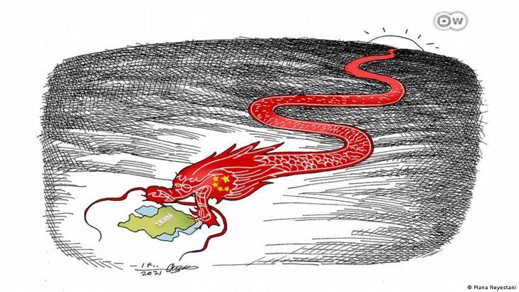 Cartoon by Mana Neyestani (source: DW)
