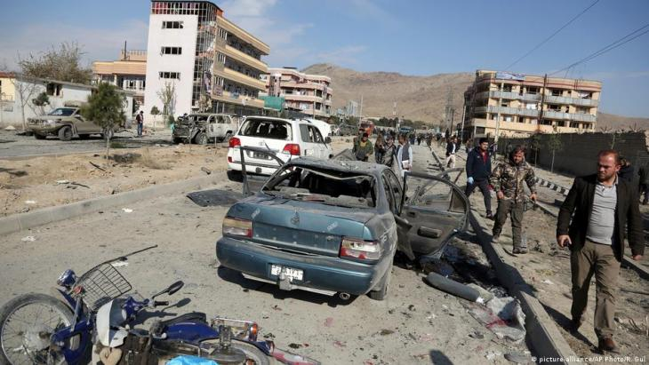 Afghanistan; car bomb in Kabul (archive photo: picture-alliance/AP Photo/R. Gul)