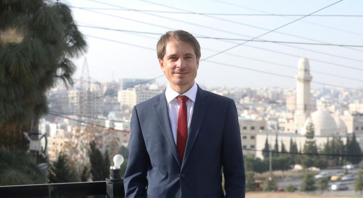 Political scientist Edmund Ratka has been the director of the Konrad-Adenauer-Stiftung's (KAS) Jordan office in Amman since November 2020 (photo: KAS)