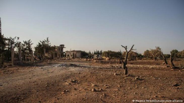 Binnish in north-western Syria has been devastated by war and drought (photo: Zuma/picture-alliance)