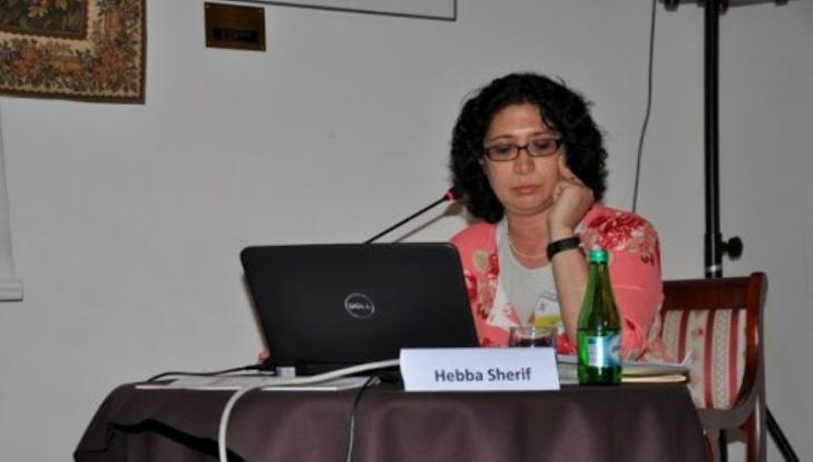 "Researcher and translator Heba Sherif, former director of the Swiss Cultural Foundation ""Pro Helvetia"" in Cairo (source: visegradsummerchool.org)"