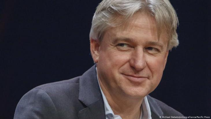 """Juergen Boos, Director of Frankfurt Fair, is a member of the """"Scientific Committee"""" of the Sheikh Zayed Book Award (photo: Michael Debets/Picture-alliance/Pacific Press)"""