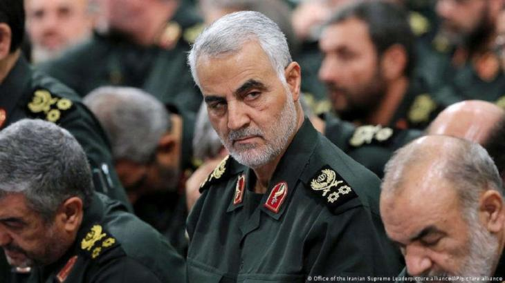 Qassem Soleimani, former commander of the Quds Brigades (photo: Office of the Iranian Supreme Leader/picture alliance/AP)