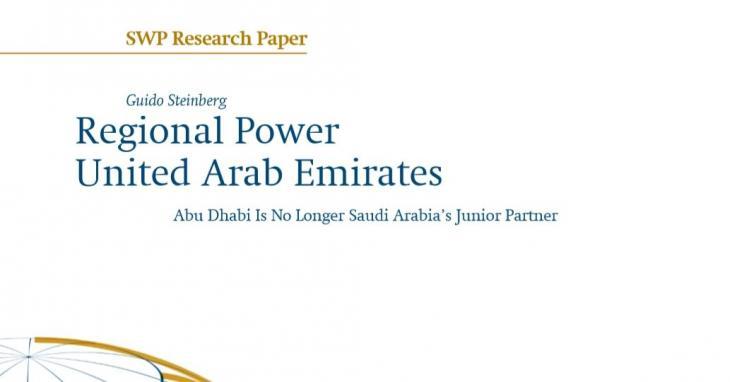 SWP study Regional Power United Arab Emirates (photo: Stiftung Wissenschaft und Politik)