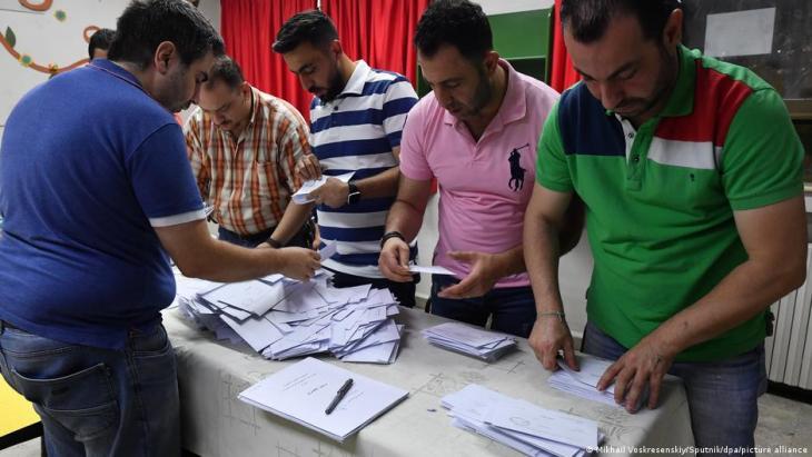Syria presidential election Bashar al Assad (photo: Mikhail Voskresenskiy/sputnik/dpa/picture-alliance)