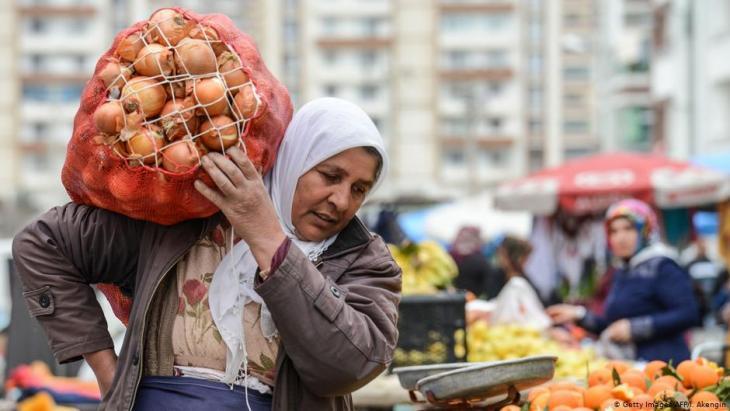 Market in Diyarbakir, Turkey (photo: Getty Images/AFP/I.Akengin)