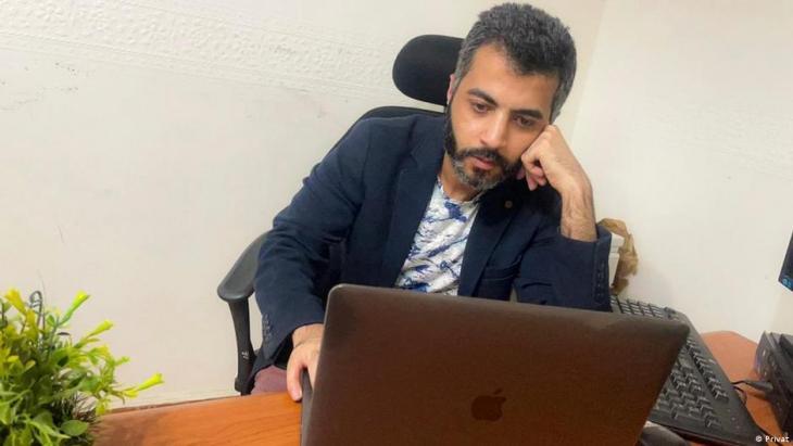 "Mohammed Elyamani, founder of ""Qawem"" (photo: private)"