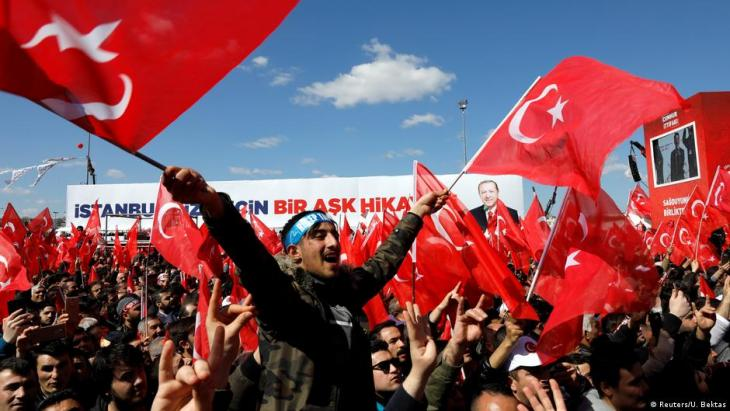 President Erdogan makes an election campaign appearance in Istanbul, Turkey (photo: Reuters/U. Bektas)