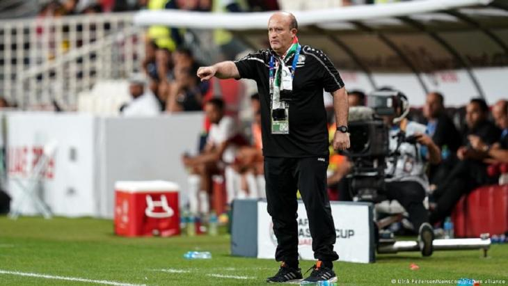 For almost three years, the Algerian Noureddine Ould Ali coached Palestine's national eleven (photo: Ulrich Perdesen/News.com/Picture Alliance)
