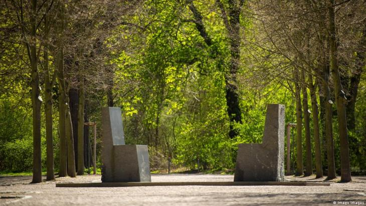 The Goethe-Hafez monument in Weimar (photo: Imago)
