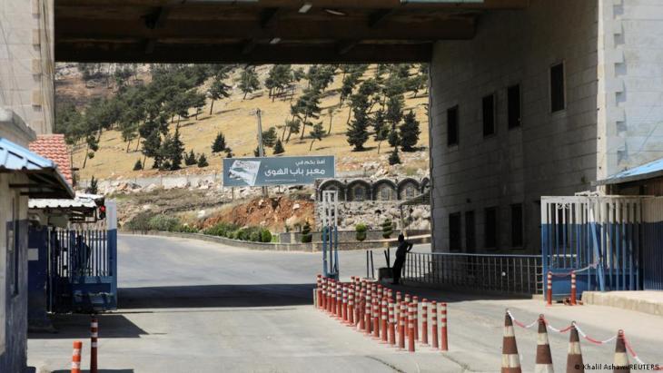 Bab el Hawa border crossing on the Turkish-Syrian border (photo: Khalil Ashawi/Reuters)