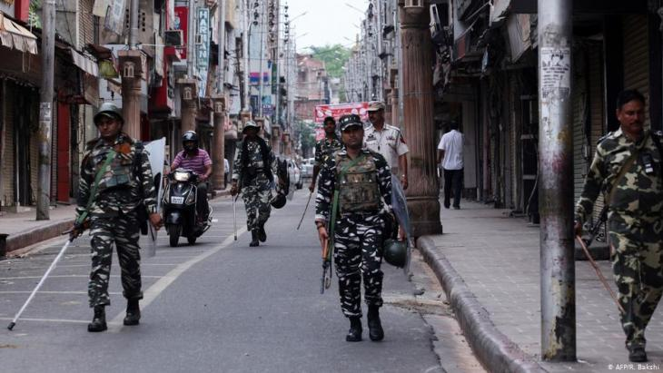 Indian soldiers in Kashmir (photo: AFP/R.Bakshi)