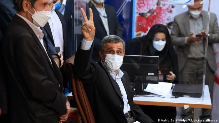 Former president Mahmoud Ahmedinejad failed to make the approved list for the 2021 elections