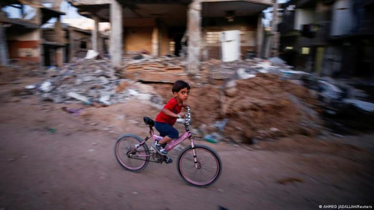 Destruction in Gaza as a result of the escalation in violence between Israel and Hamas (photo: Ahmed Jadallah/Reuters)