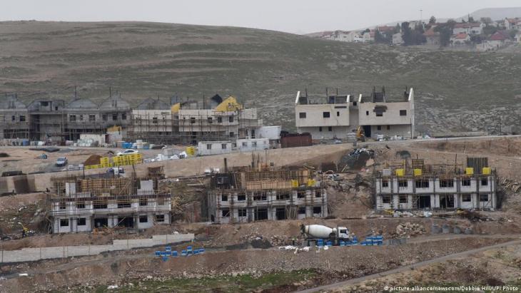 Israeli settlement Ma'ale Adumim in the West Bank (photo: picture-alliance/newscom/Debbie Hill/UPI Photo)