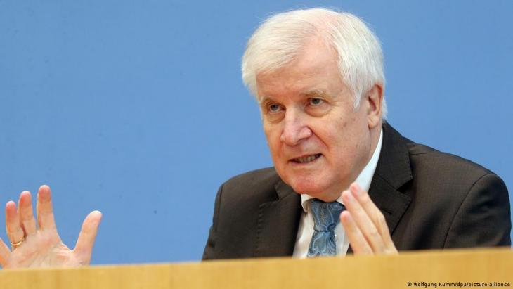 Germany's Federal Minister of the Interior Horst Seehofer (photo: Wolfgang Kumm/dpa/picture-alliance)