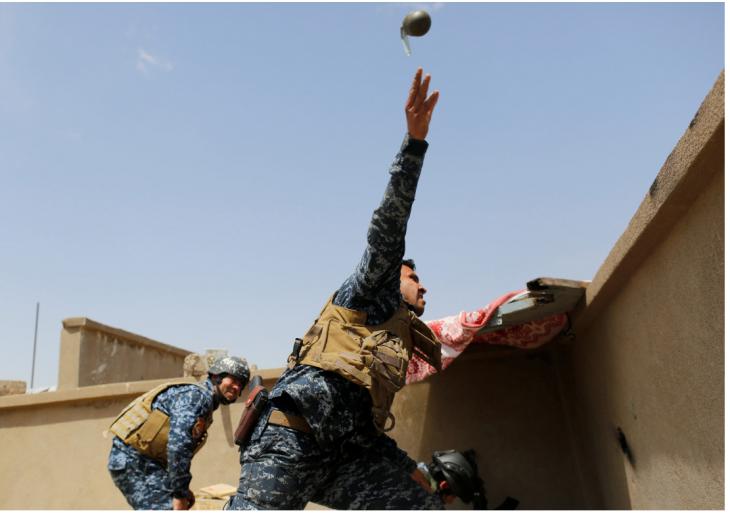 Battle for Mosul by Danish Siddiqui (source: screenshot www.danishsiddiqui.net)
